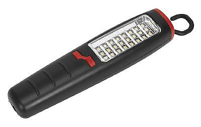 Sealey LED307 Inspection Light Lamp Cordless 24 SMD 7 Led Lithium Rechargeable