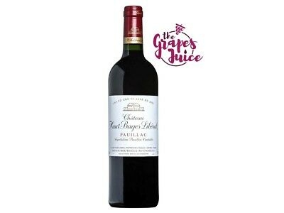 Vino Rosso Francia Chateau Haut-Bages Liberal 2010 - Pauillac