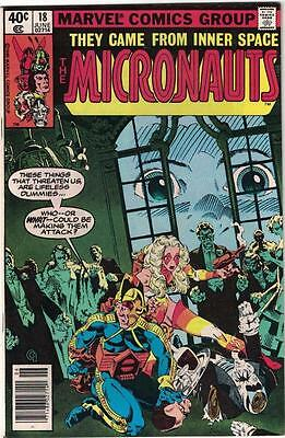 Lot of 13 Issues of The Micronauts 18-46 1980 all in VG condition!