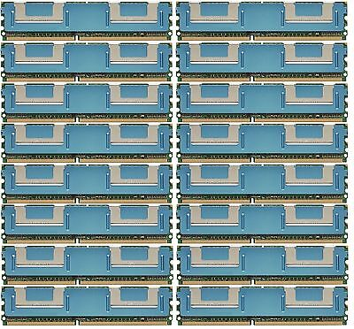 64GB 16x4GB DDR2  Fully Buffered PC2-5300F 667 Memory Dell Precision 690 TESTED