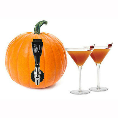 Final Touch Watermelon Keg Tap Kit Pumpkin Halloween BBQ Party Drink Dispenser