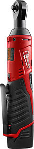 "Milwaukee 2456-21 M12 Cordless 1/4"" Ratchet Kit"