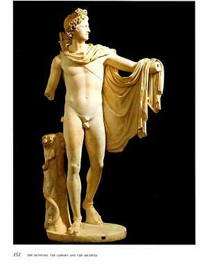 Vatican: Ancient Roman Statue- Nude Man- Bookplate Photo Print