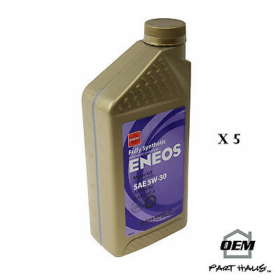 ENEOS  3261-300 Fully Synthetic Motor Oil 5W-30 - 5 Quarts 5W30