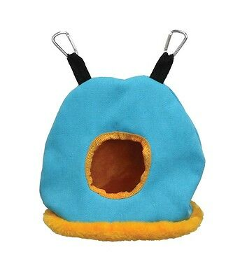 Prevue Pet Snuggle Sack Large Neon Bed Hut Tent Animal Bird Free Ship Usa