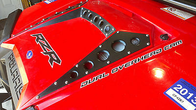 American Rock Rods Raw finish Hood scoop/grill kit for 2011 + Polaris RZR