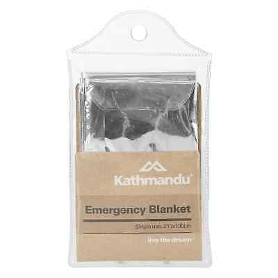 Kathmandu Emergency Single Use Water Wind Resistant Aluminium Blanket v3