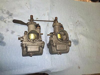 Yamaha AS1 AS2 125cc Carburetors, Carbs