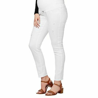 NEW Maternity Skinny Jeans - White