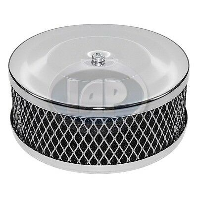 Volkswagen Vw Bug Ghia Buggy Bus Chrome Air Cleaner Ac129741