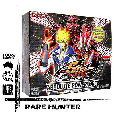 YuGiOh - Absolute Powerforce Booster Box. 1st Edition Sealed