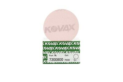 KOVAX YELLOW FILM Super Tack Scheiben P 800 Ø 75 mm Ungelocht