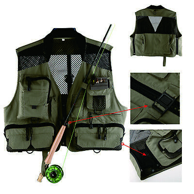 Fly Fishing Vest - Mesh Vest - Light weight Large Classic vest