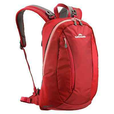 Kathmandu Gluon Beyond 18L Attachable Backpack Rucksack Hiking Day Pack v3 Red