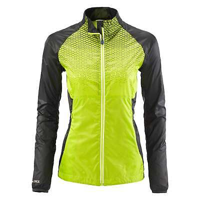 Kathmandu Lite Ace Pro Womens Windbreaker Reflective Active Running Jacket Green