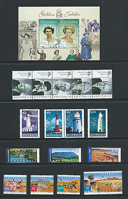 """2002 Australia """"The Collection of 2002 Australian Stamps"""" Complete Set:MUH"""