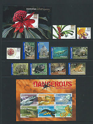 """2006 Australia """"The Collection of 2006 Australian Stamps"""" Complete Set:MUH"""