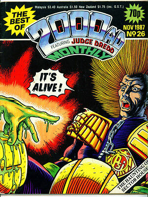 •.•  BEST OF 2000 AD • Issue 26 • Judge Dredd • Fleetway