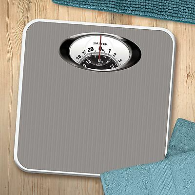 Salter Magnified Display Mechanical Home Bathroom Weighing Scale Chrome 485 SVDR