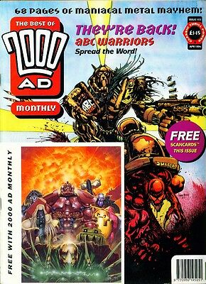 •.•  BEST OF 2000 AD • Issue 103 • With Scan Cards • ABC Warriors • Fleetway