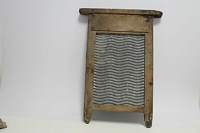 Antique primitive old wooden instrument for washing clothes