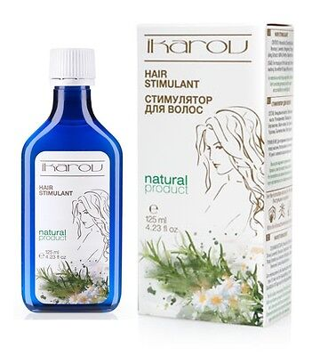 IKAROV Hair Stimulant Natural Oil 125ml Prevents HAIR LOSS & Promote hair growth