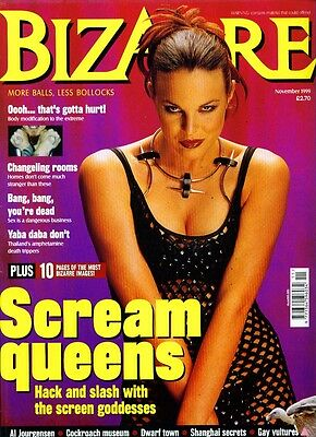 <•.•> BIZARRE MAGAZINE • Issue 26 • 1999/11 • Dennis Publishing