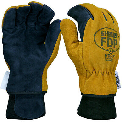 Shelby 5225 FDP Mens Firefighter Gloves Fire Retardant & Heat Resistant Leather