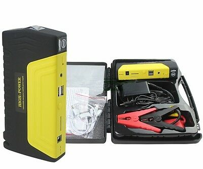 50000mAh Portable Car Jump Starter Charger Auto Power Bank Battery with Air Pump
