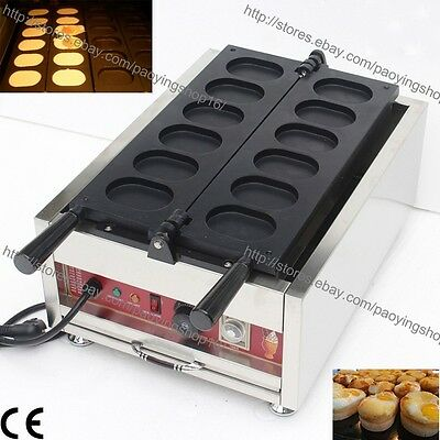 Commercial Nonstick Electric Korean Egg Bread Gyeranppang Maker Machine Baker