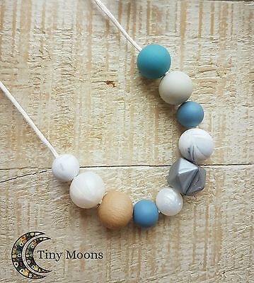 Nursing BPA Free Silicone Necklace Mum Jewellery Baby (Teething Toys Available)