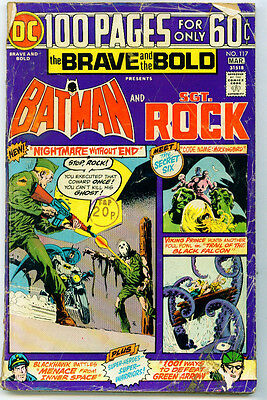 <•.•> BRAVE AND THE BOLD (VOL.1) • Issue 117 • Batman / Sgt. Rock • DC Comics