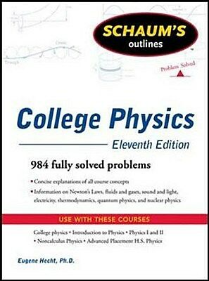 Schaum's Outline of College Physics Frederick J. Bueche