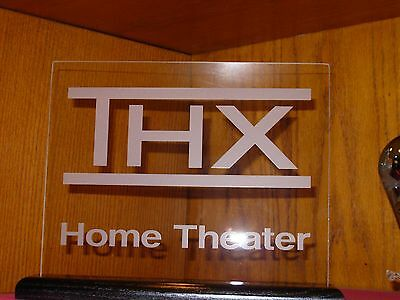 Thx Etched Glass Home Theater Sign