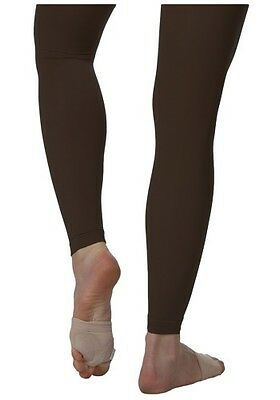 Womens Black Bloch Endura Footless Tights Size XS - Large