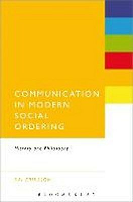 Communication in Modern Social Ordering Kai Eriksson