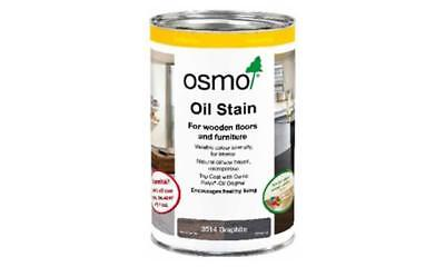 Osmo Oil Stain 1L Multiple Colours Wood Floor Oil Stain.
