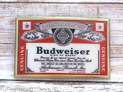 Budweiser King of Beers Vintage Belt Buckle