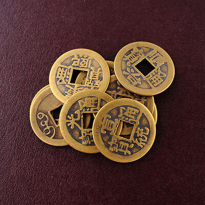 10x Feng Shui Lucky Chinese Fortune phoenix Coin Emperor Qing Money I Ching Hot