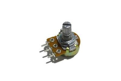 WH148 Type 1K Ohm Linear Taper Rotary Potentiometer Panel Pot 3Pin