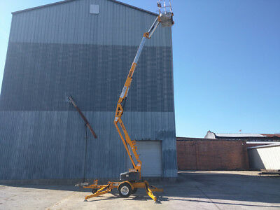 2012 Biljax 3522A Towable Trailer Mounted Boom Lift JLG TOW PRO GENIE NIFTY LIFT