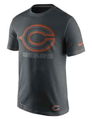 Chicago Bears Nike Dri-Fit Practice Travel T-Shirt