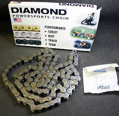 Diamond PowerSports USA #530 Roller Chain Replacement Harley Davidson 100 Link