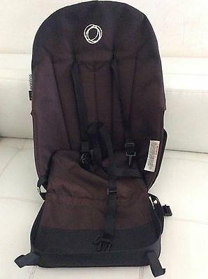 Bugaboo Frog Stroller Canvas Seat Canvas Fabric Black Replacment Parts Toddler