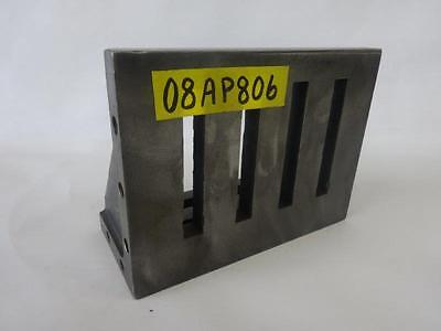 "8"" x 6"" x 4"" Slotted Angle Plate Workholding Fixture"