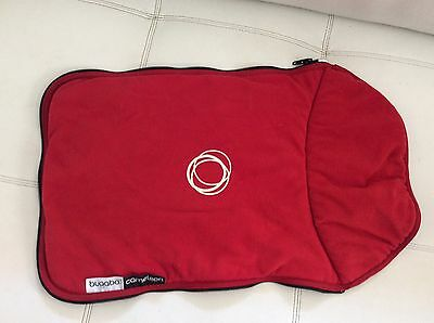 Bugaboo Cameleon Stroller Bassinet Apron Red Fleece Baby Carry Cot Cover