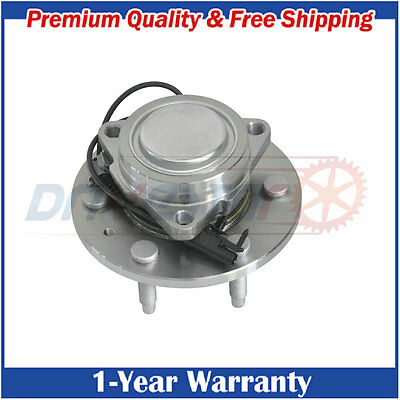 1 New Front 6 Lug 2WD Wheel Hub and Bearing Assembly fits  Chevy GMC Cadi w/ ABS