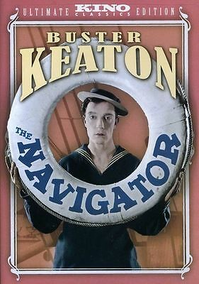 The Navigator: Ultimate Edition, Good DVD, Kathryn McGuire, Buster Keaton, Donal
