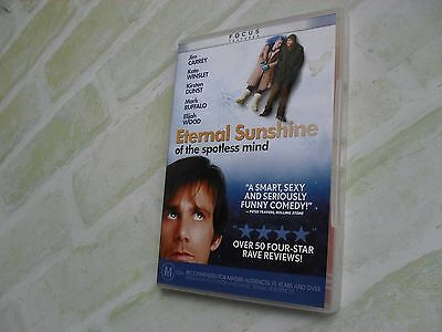 ETERNAL SUNSHINE - of the spotless mind - REGION 4 PAL DVD