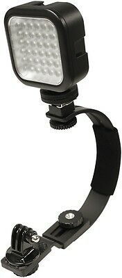 WASP 9998 Camera Mount w/LED Light and Case